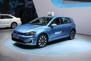 volkswagen e-golf la motor show unveil
